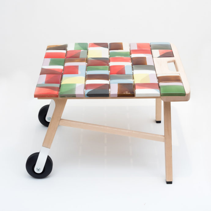Tile Side Table Hella Jongerius Galerie Kreo
