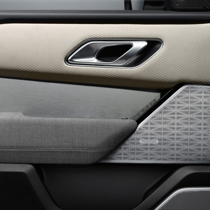Range Rover Velar door covering Kvadrat