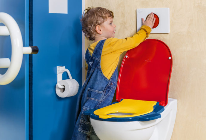 Being able to cope with bathroom functions themselves encourages children to be independent.