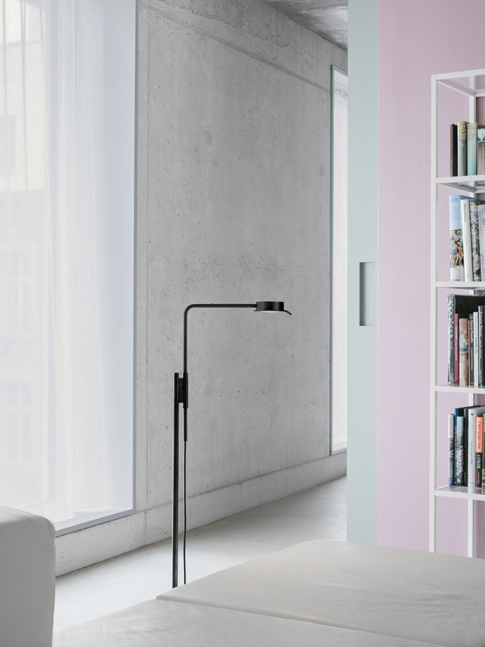 w102 Floor lamp in David Chipperfield surrounding