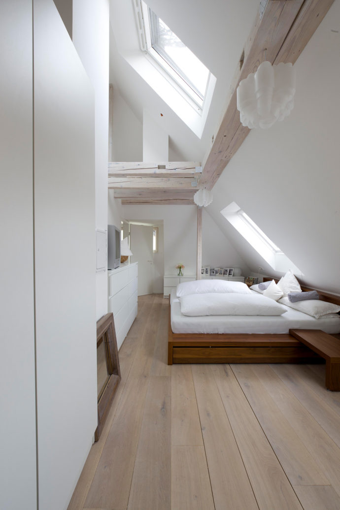 Conversion of a family house in Stuttgart by Frey Architekten, 1st Prize and Newcomer Prize in the VELUX Architects' Competition 2013