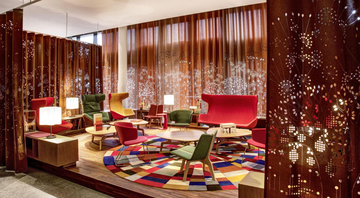 Lounge des 25hours Hotel Zürich West