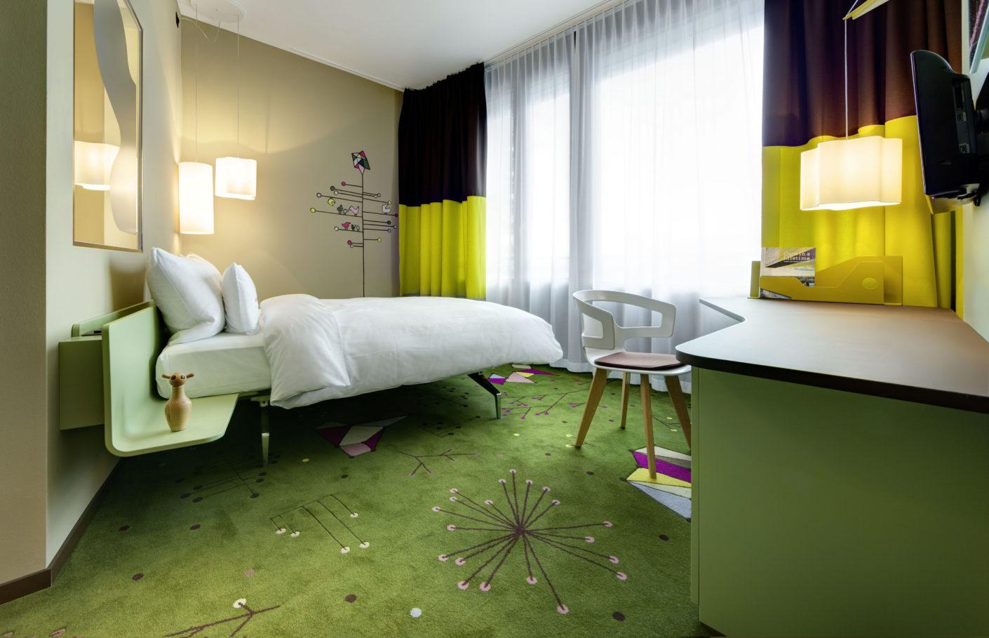 Zimmer 25hours Hotel Zürich West