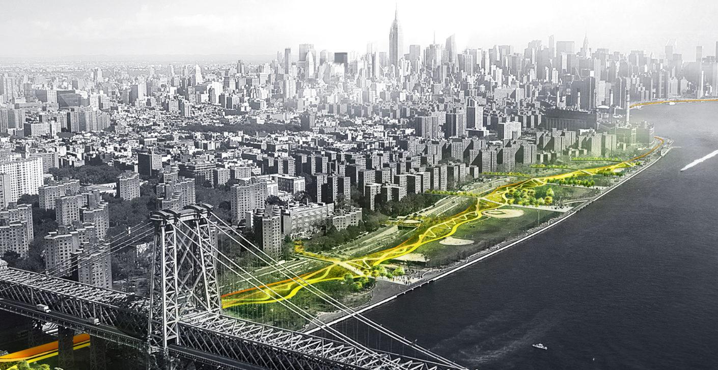 Dryline - Flutschutz für Manhattan von BIG