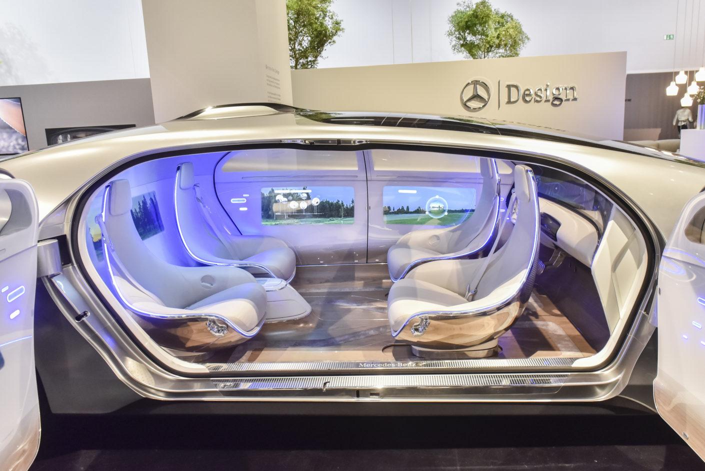 Mercedes-Benz Studie, Vitra Halle, Orgatec 2016