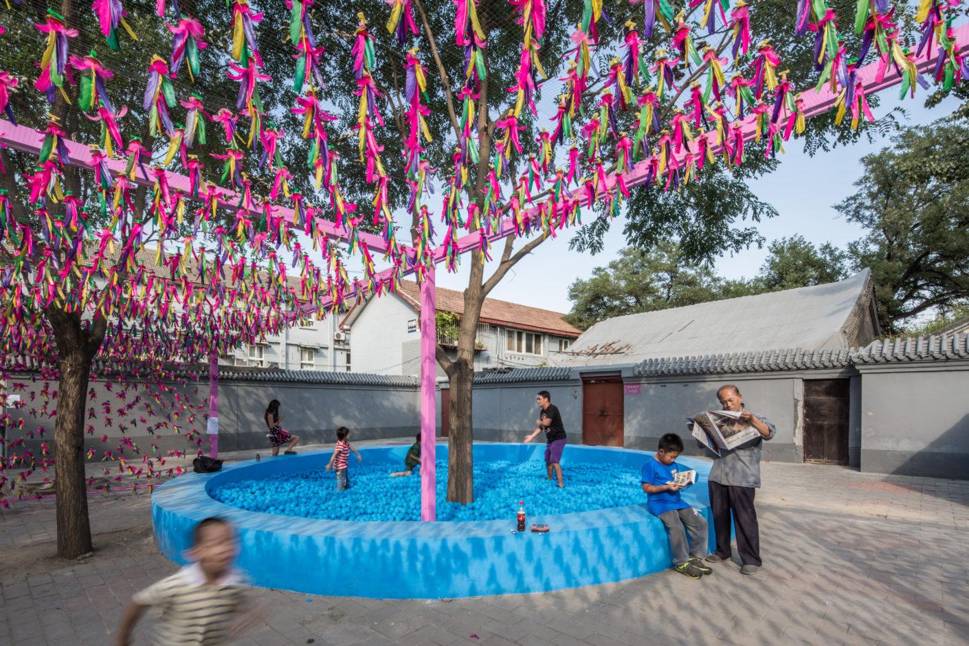 Baitasi Remade: Jianzi Box at Baitasi by SPARK Architects at Beijing Design Week