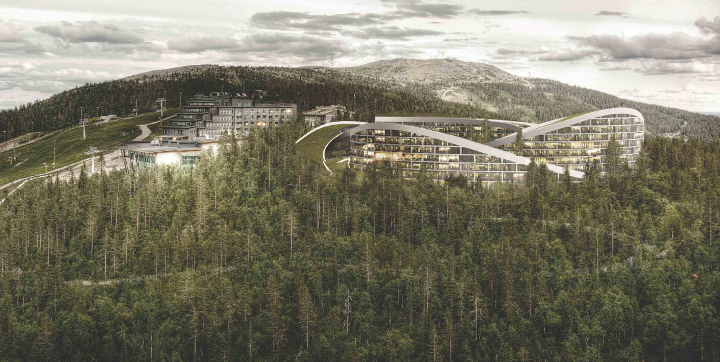 Hotel im finnischen Levi