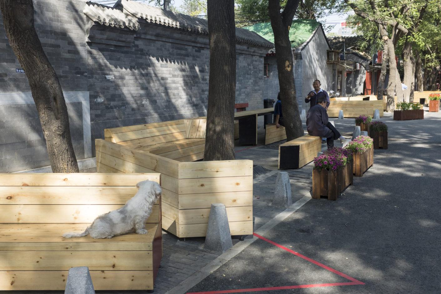 Baitasi Remade: SuperCounter in hutong Baitasi, Beijing, by BaO architects at the Beijing Design Week 2016