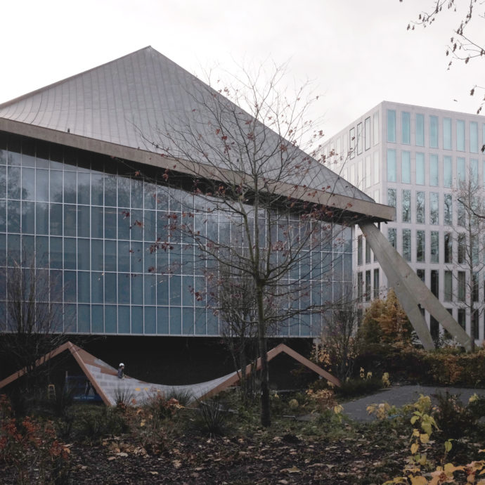 Design Museum London, restauration by Rem Koolhaas, Reinier de Graf, OMA