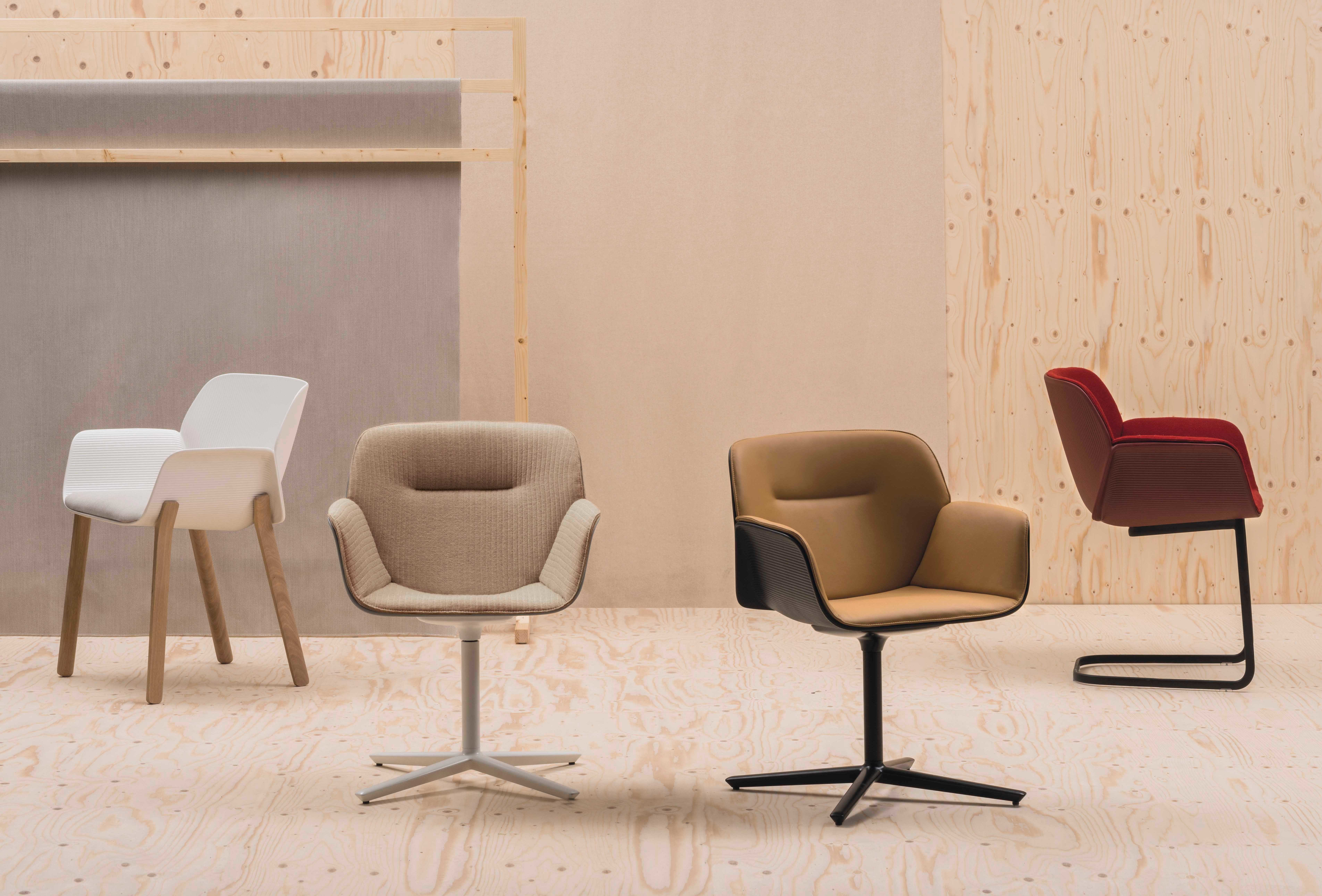 Great variety The new chairs on the Salone del Mobile