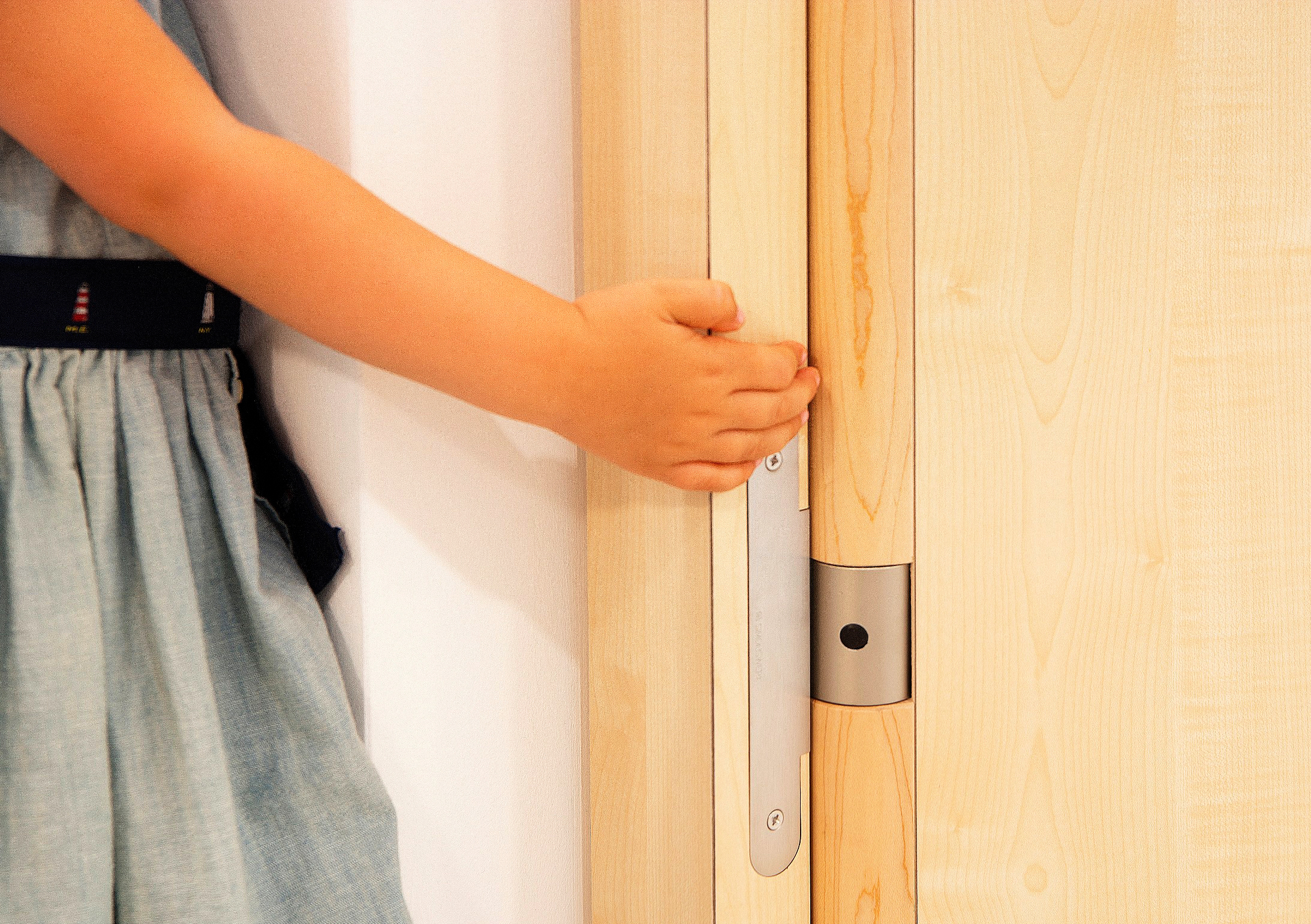Retrofitting Doors With The Finger Protection Set By