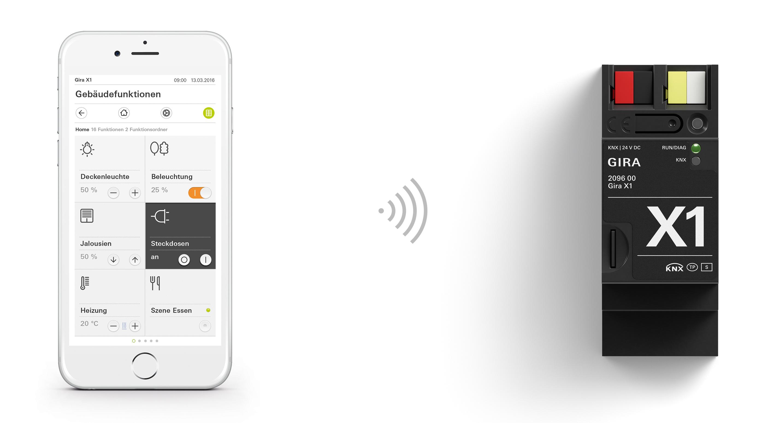 Der neue X1-Server von Gira macht das Smart Home einfac | STYLEPARK