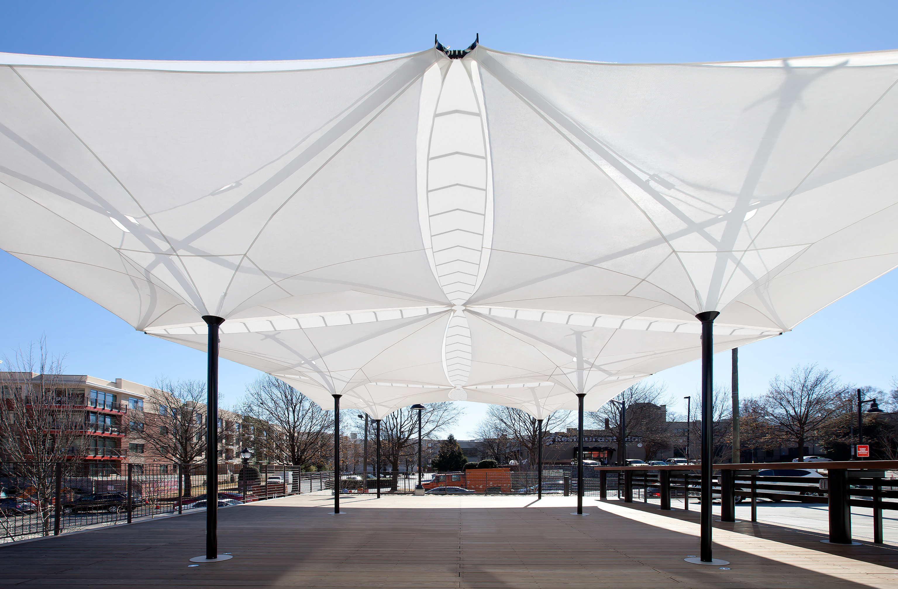 Flexible Canopy Quot Tensilation Quot By Mdt Tex Made Of Ptfe