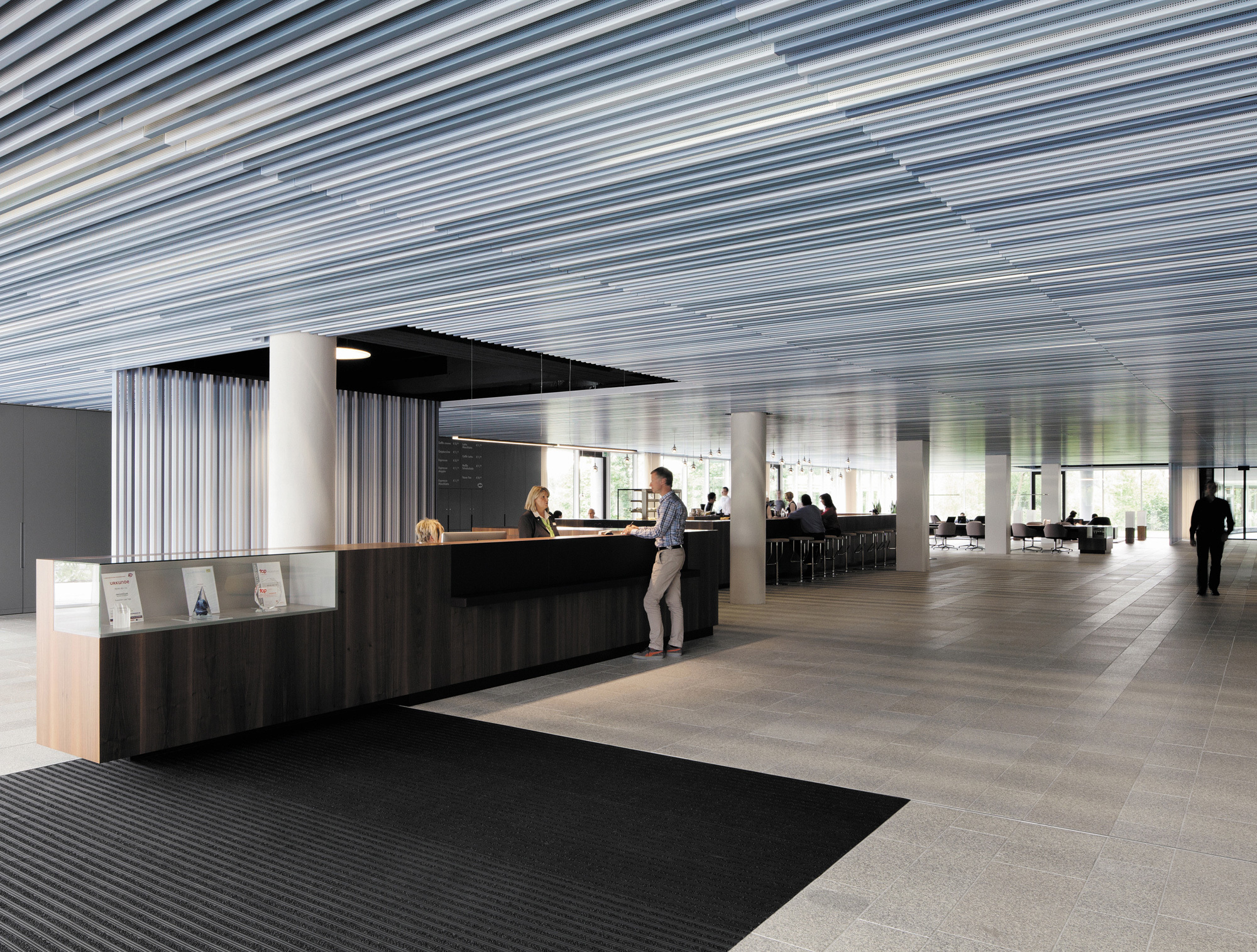 Baffle Ceiling By Lindner Group Stylepark
