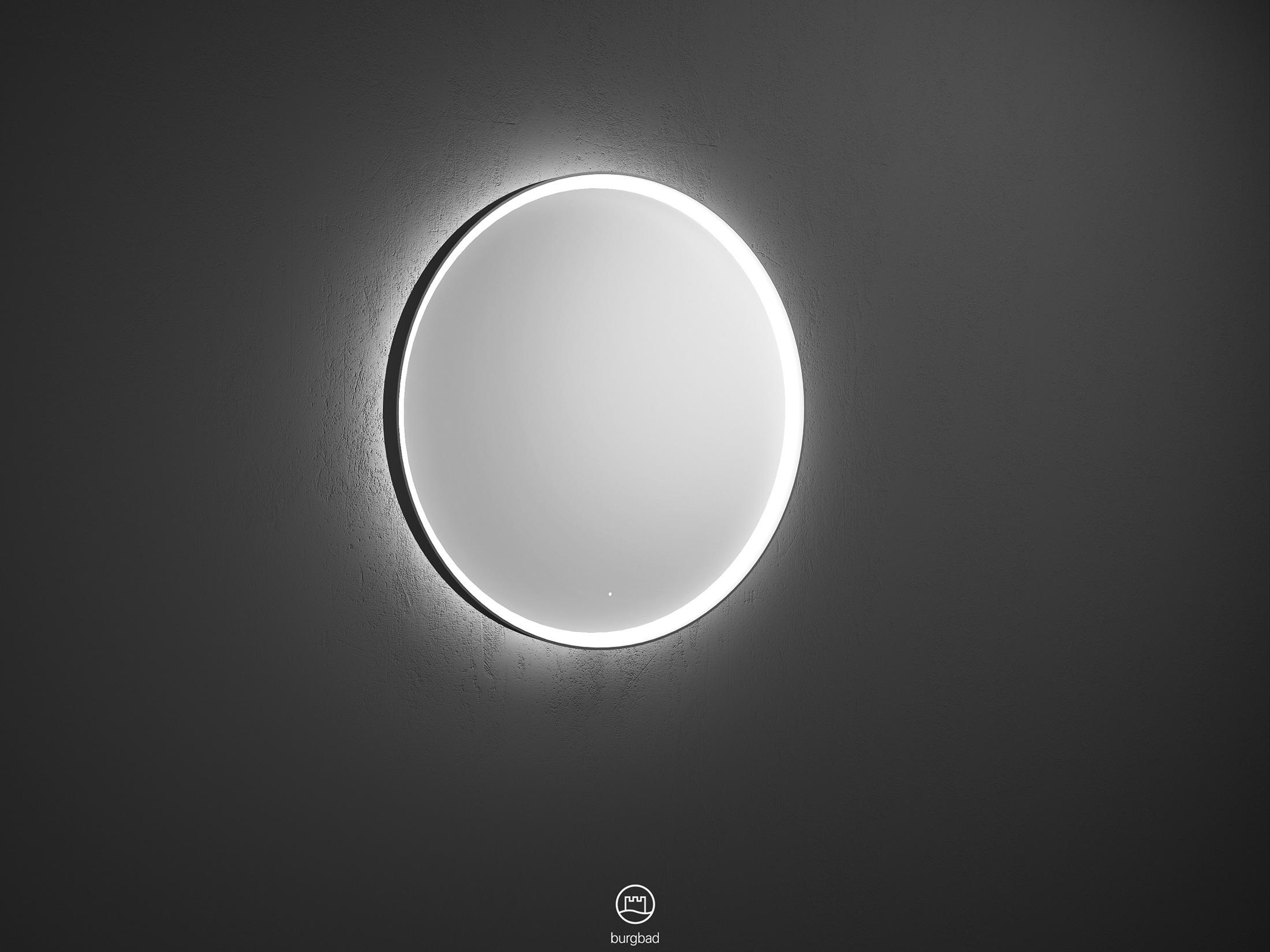Mya Illuminated Mirror With Led Lighting And Circulating Led Frame