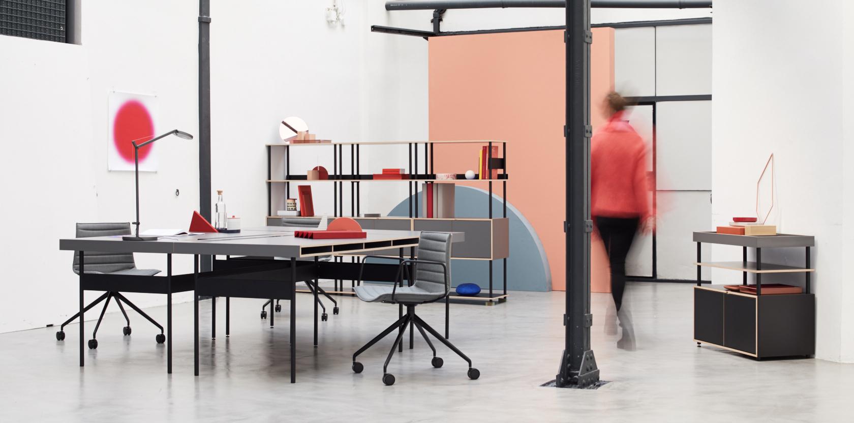 STUDIO shelving system by Bene | STYLEPARK