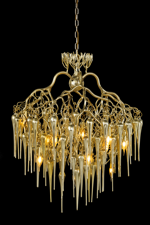 Hollywood Chandelier Glass By Brand Van Egmond