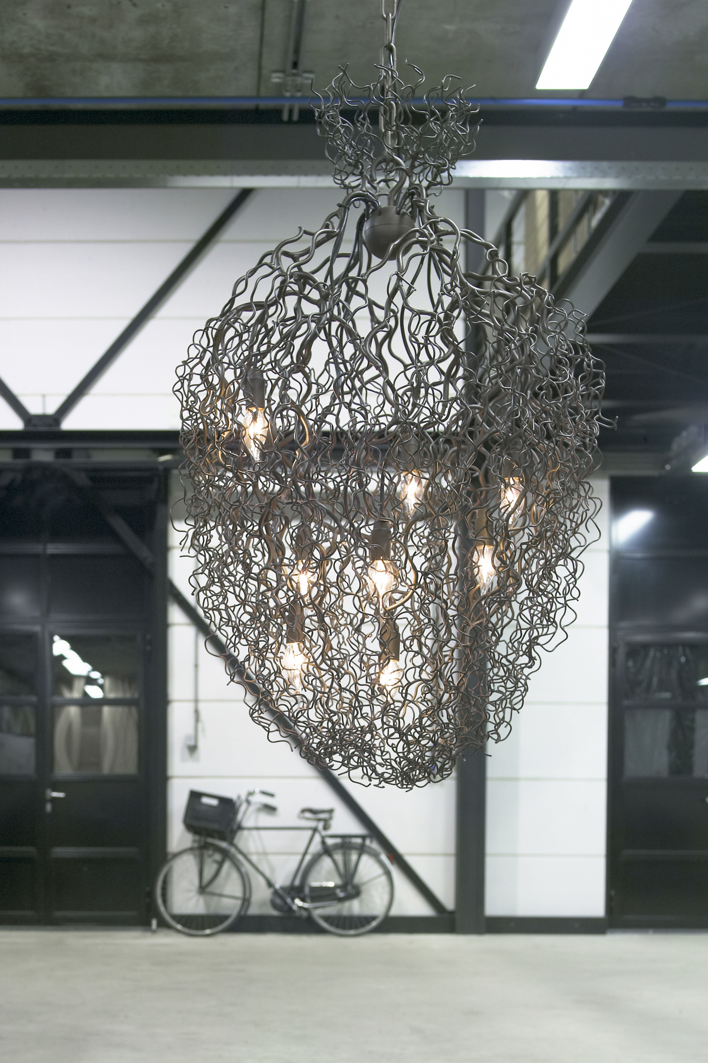 Hollywood chandelier conical by brand van egmond stylepark hollywood chandelier conical arubaitofo Gallery