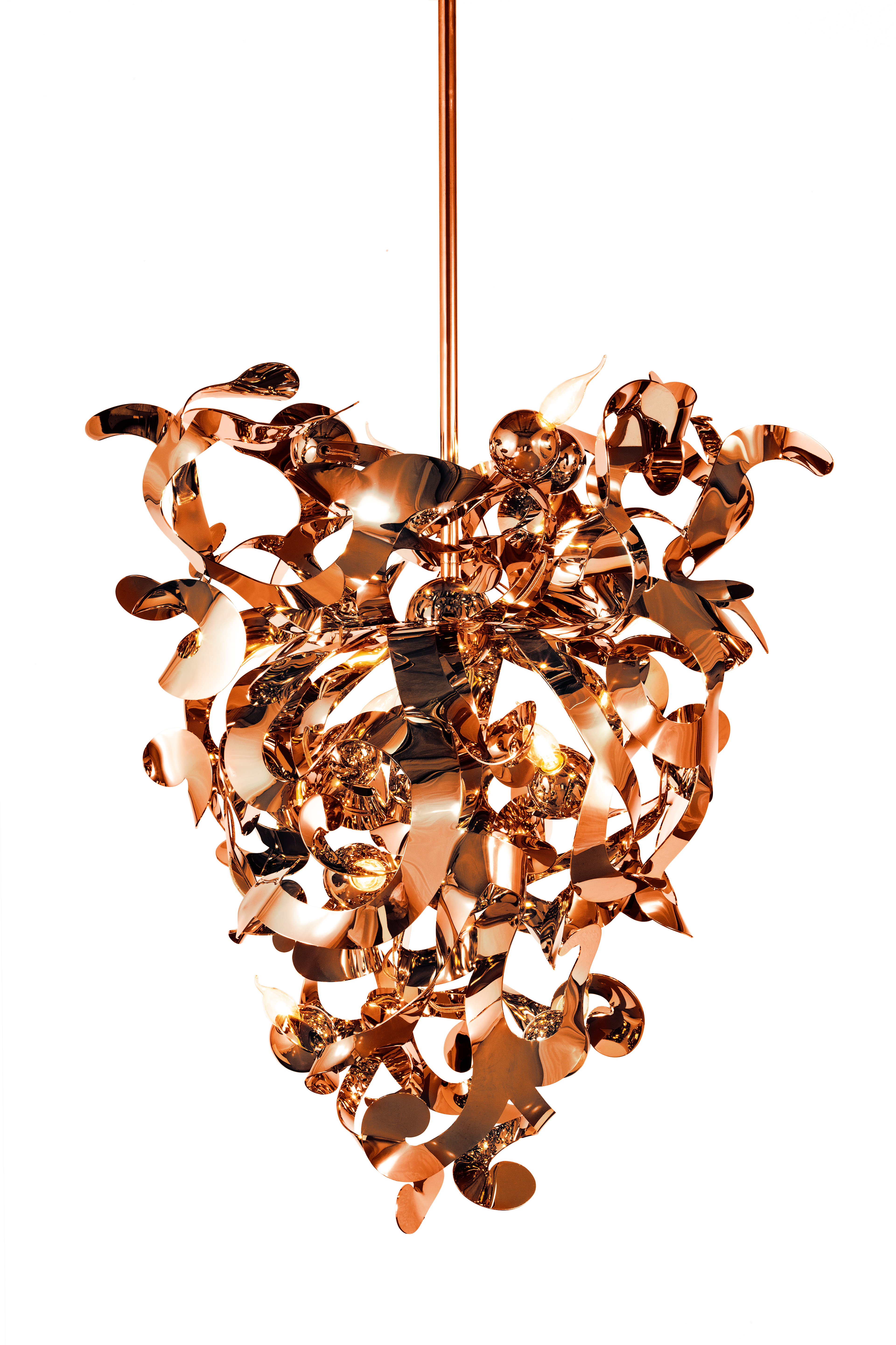 gold finish inch havana chandelier cfm shown wide light contemporary item leaf in company currey and orange