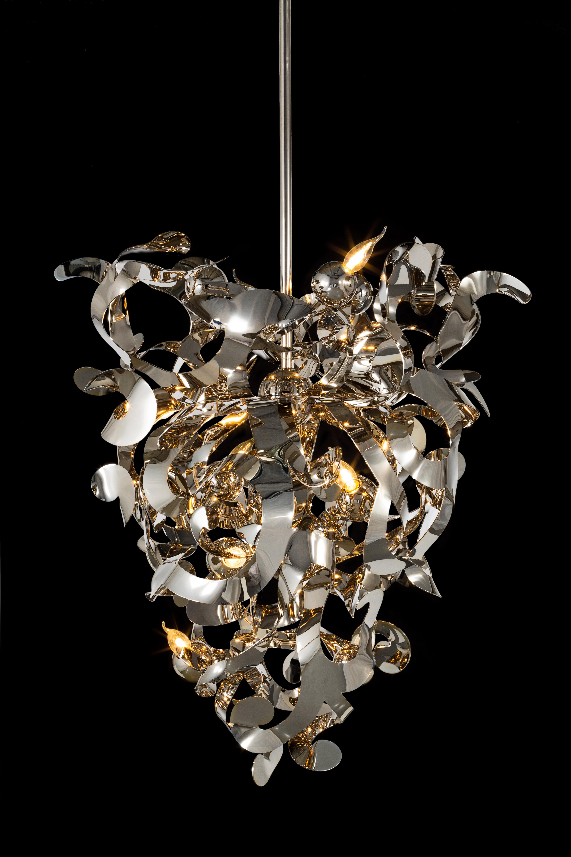 Kelp chandelier conical by brand van egmond stylepark kelp chandelier conical arubaitofo Images