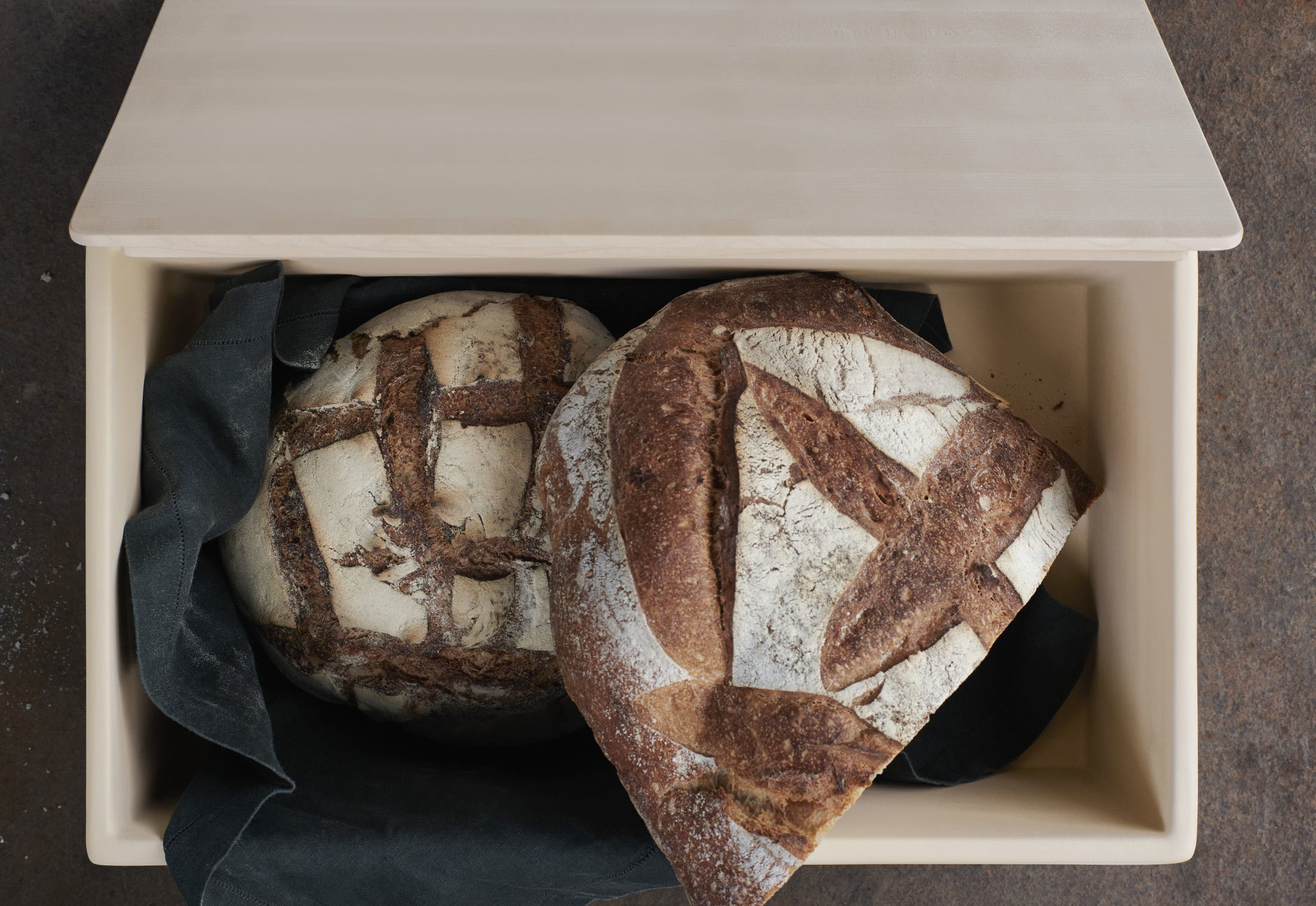 Bulthaup Wiesbaden bulthaup bread container by bulthaup stylepark