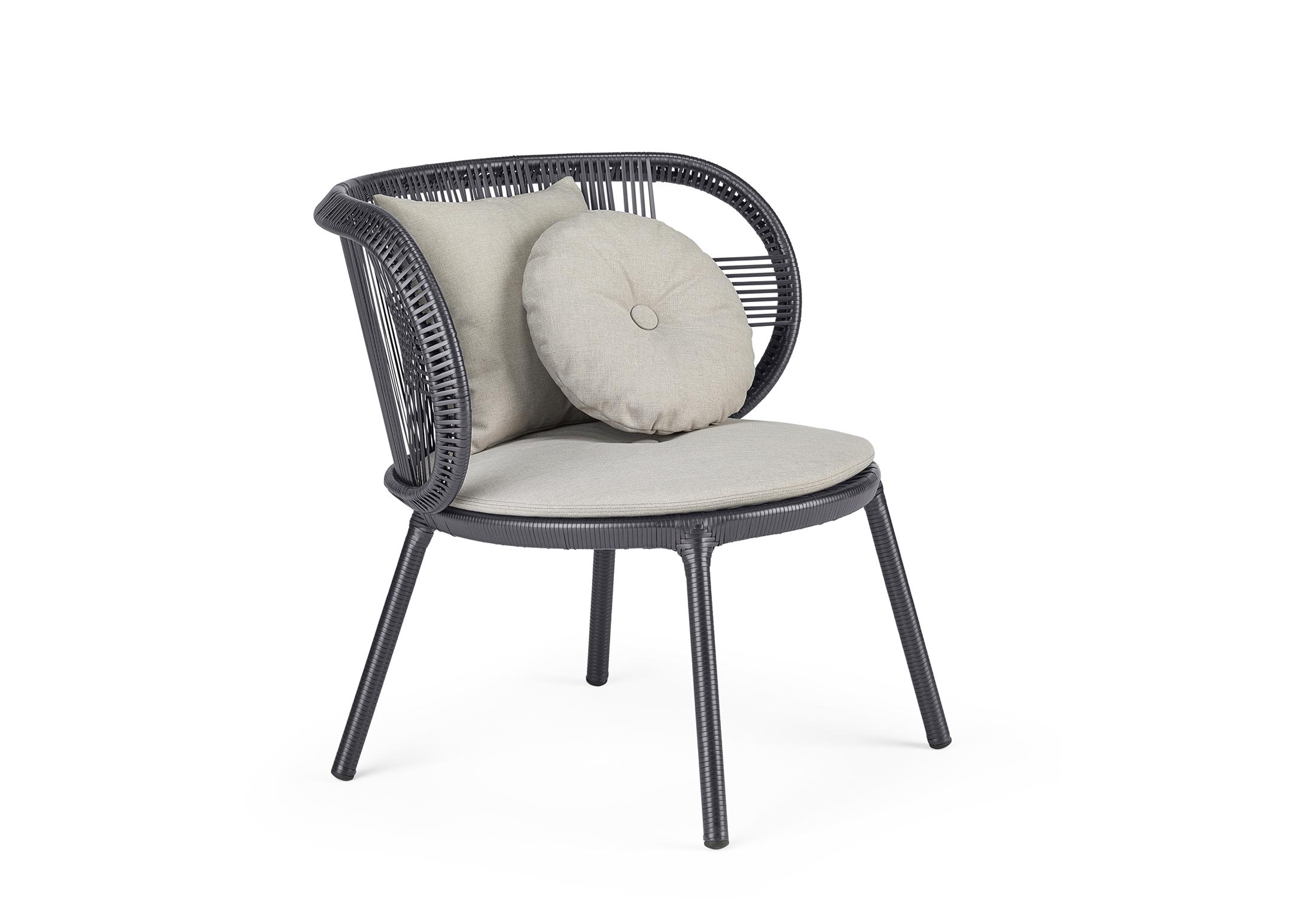 Surprising Cirql Lounge Chair By Dedon Stylepark Short Links Chair Design For Home Short Linksinfo