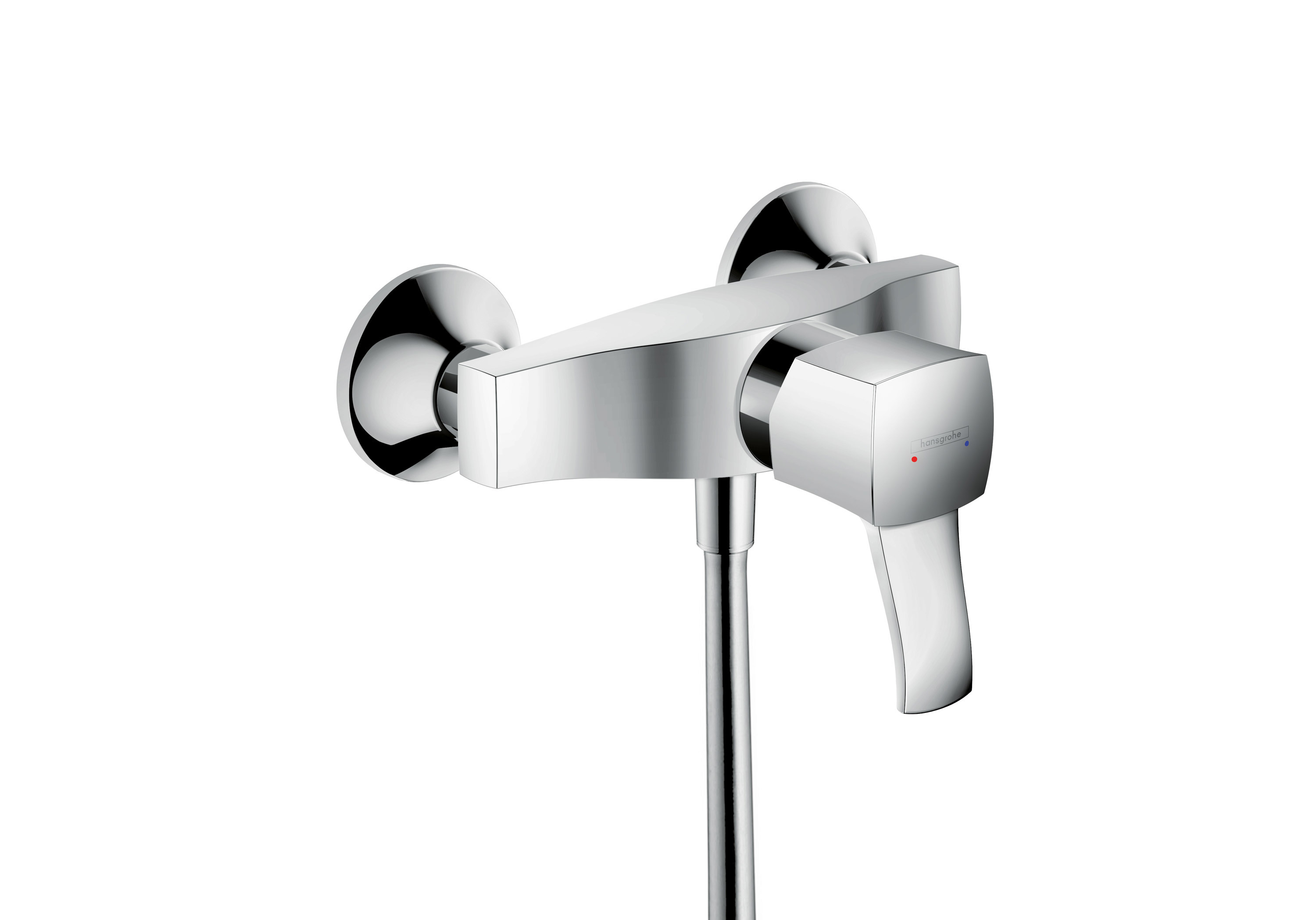 Metropol Classic Shower Mixer exposed by Hansgrohe | STYLEPARK