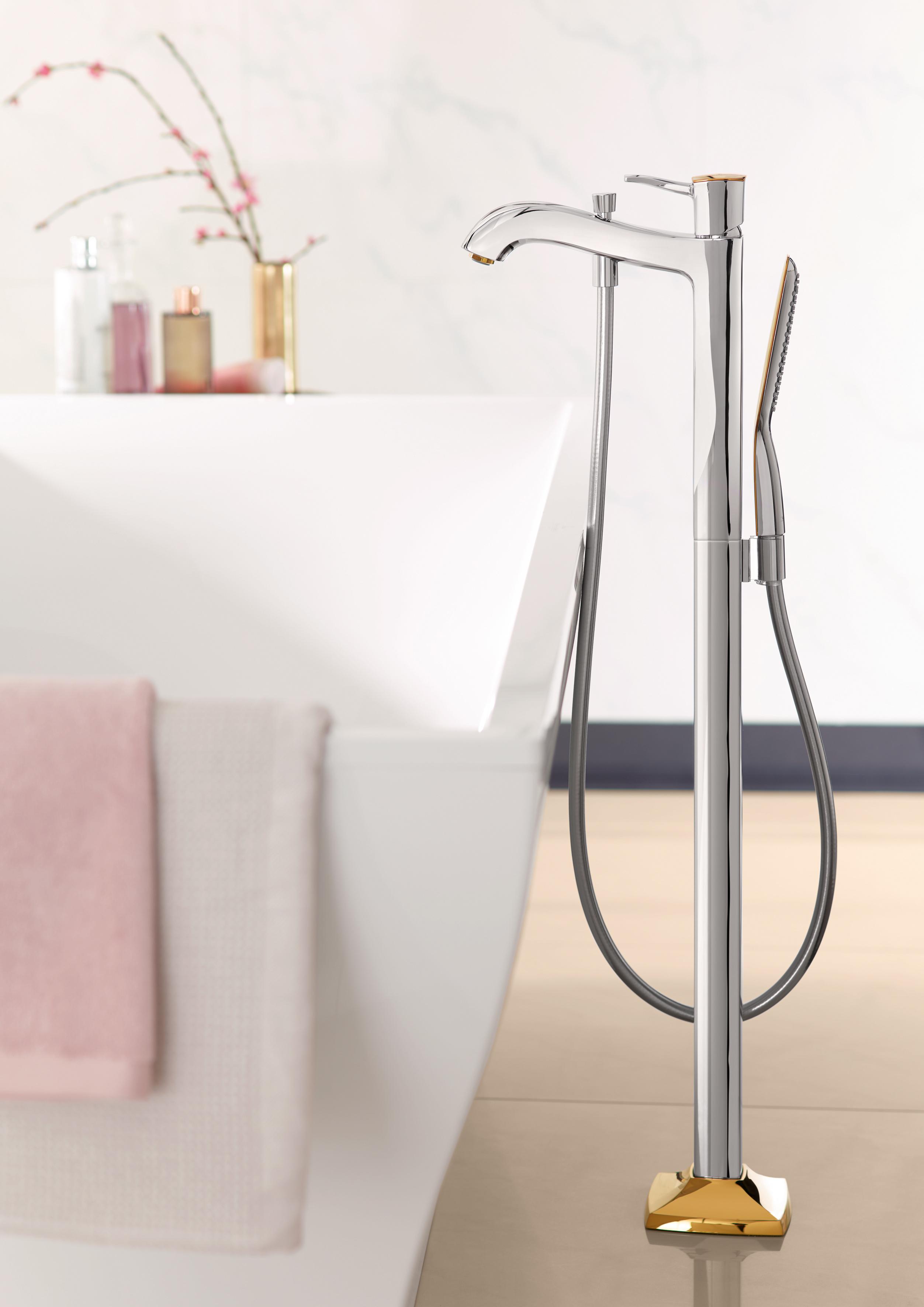 metropol classic wanneneinlauf freistehend von hansgrohe. Black Bedroom Furniture Sets. Home Design Ideas