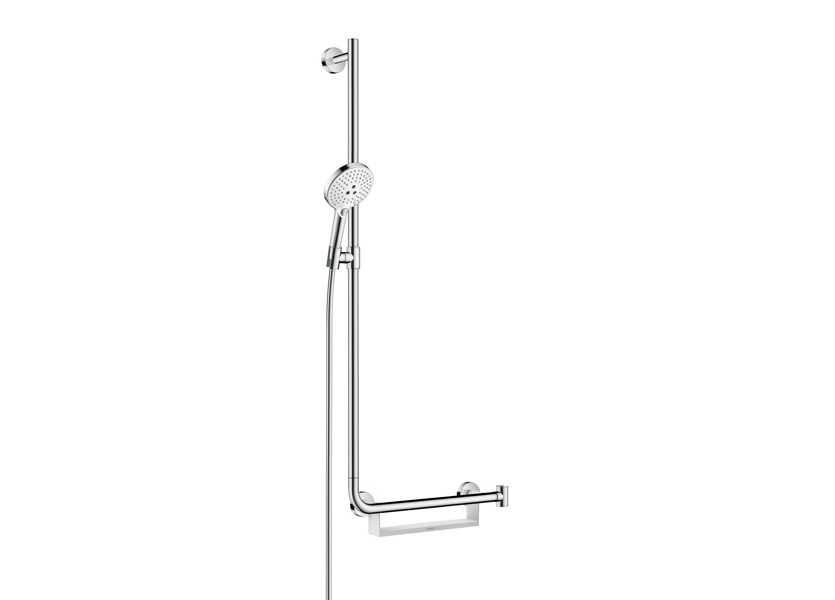 Unica Comfort shower bar left by Hansgrohe | STYLEPARK