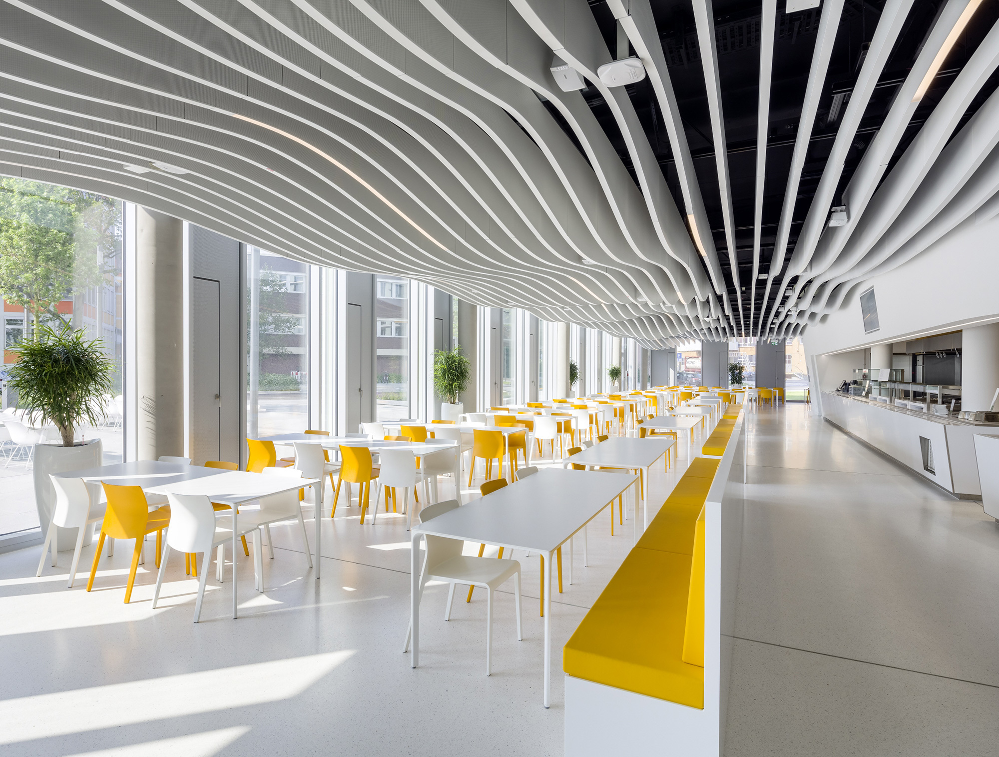 Lmd L Laola Baffle Ceiling By Lindner Group Stylepark