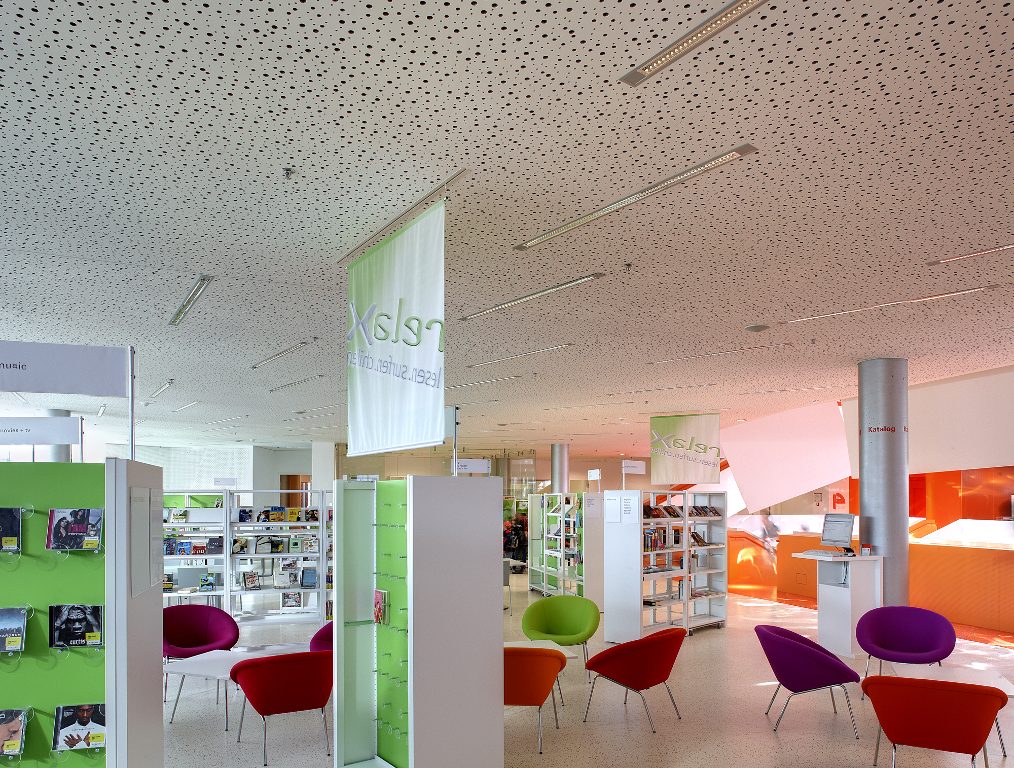 Plafotherm® heated and chilled ceiling by Lindner Group | STYLEPARK