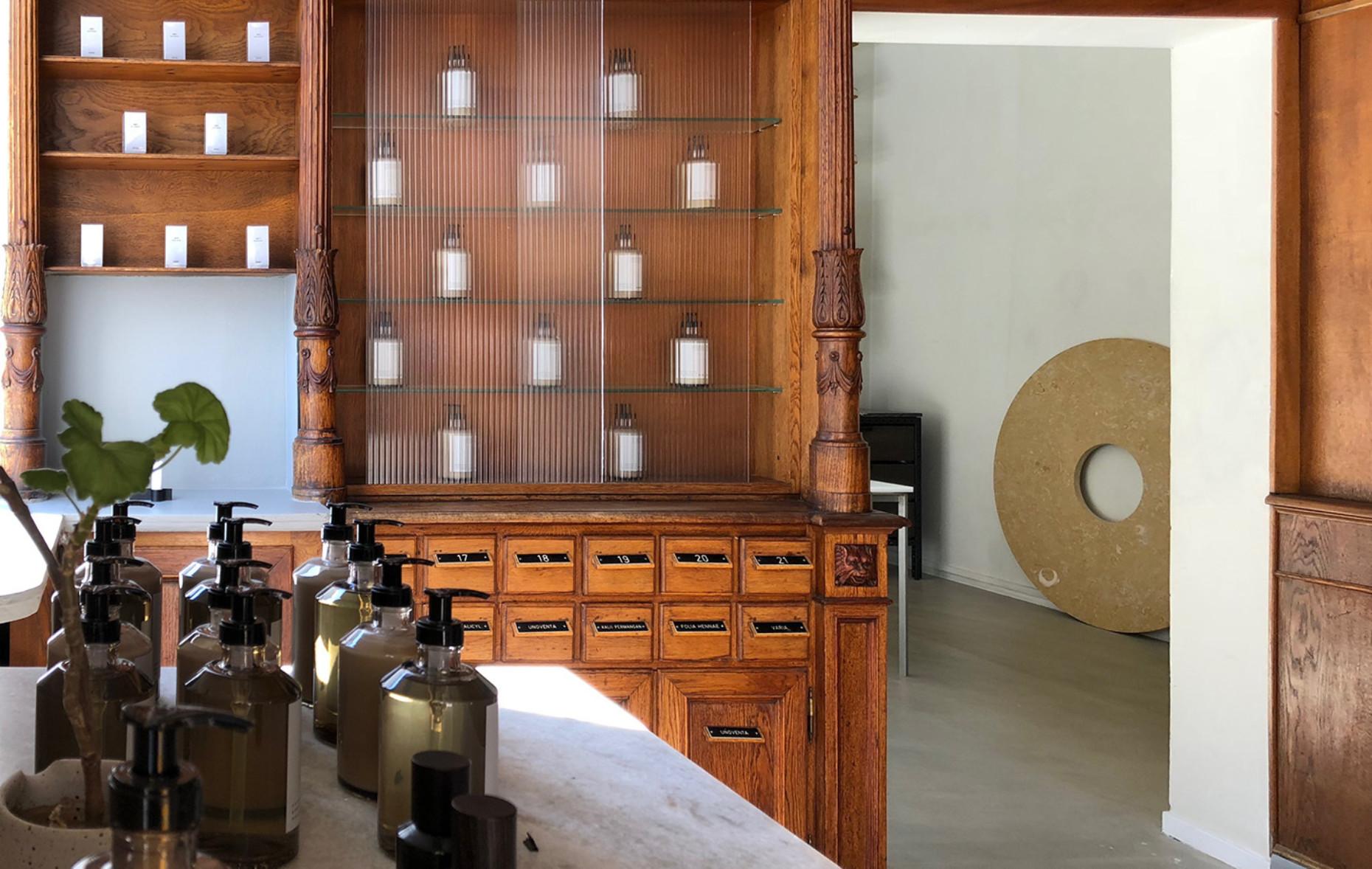 Frama Studio Store in den Räumen der ehemaligen St. Pauls Apotek