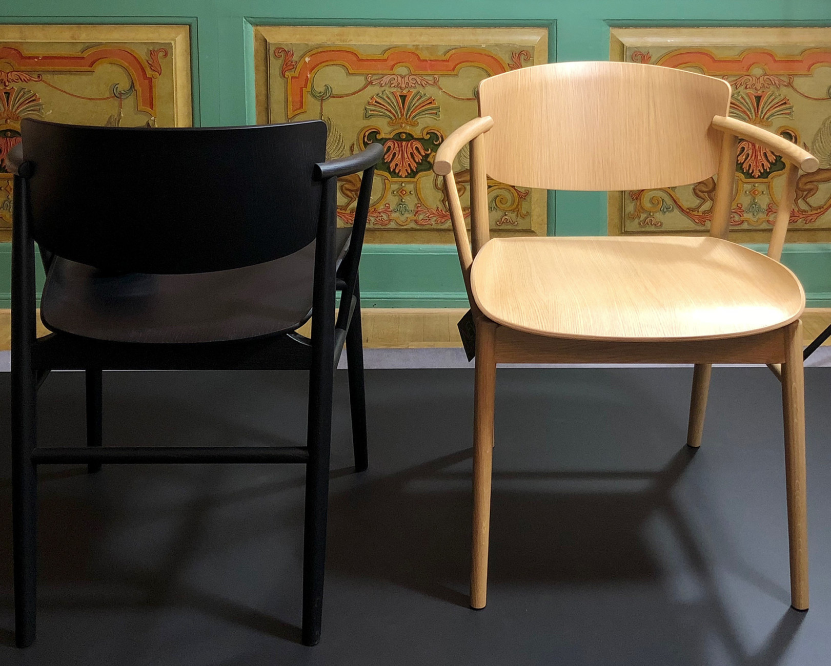 """Winner of the Stylepark Selected Award at the Salone: The """"NO1"""" chair by the Japanese design studio Nendo for Fritz Hansen"""