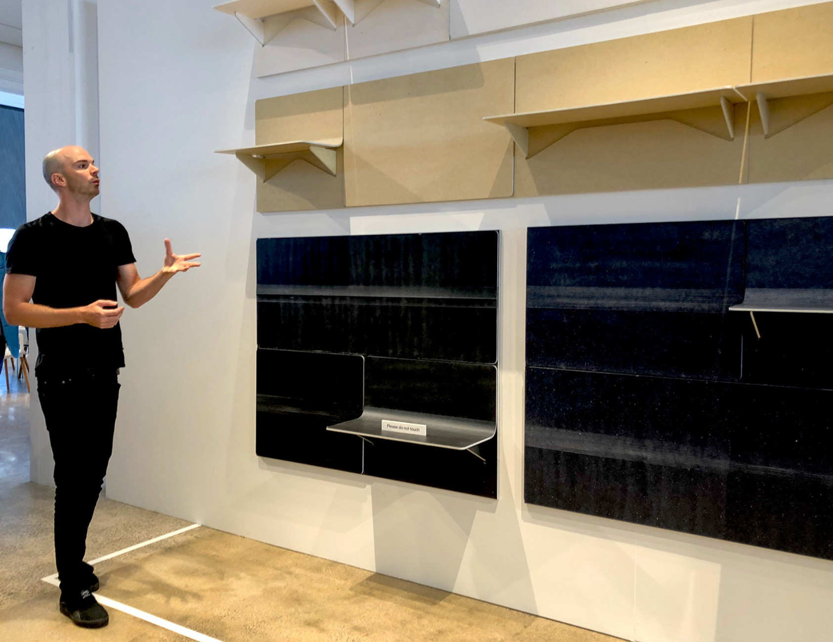 "Flexible shelving system: ""Shift"" by Benjamin Hubert for Kvadrat"
