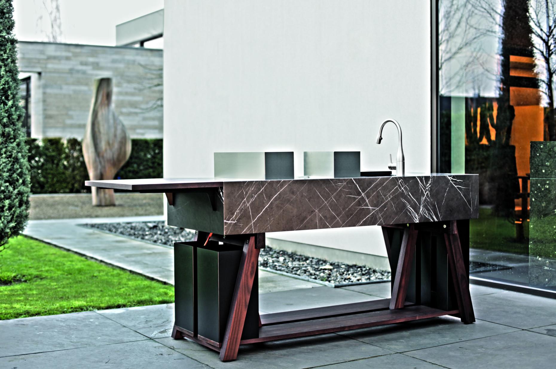 Platte Für Außenküche : Bildergalerie außenküchen stylepark