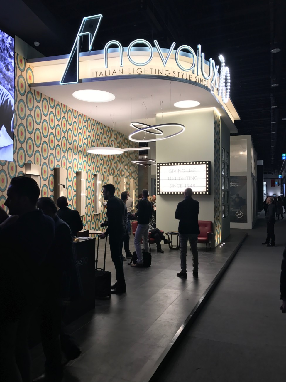 Light + Building 2018. Novalux, Stylepark