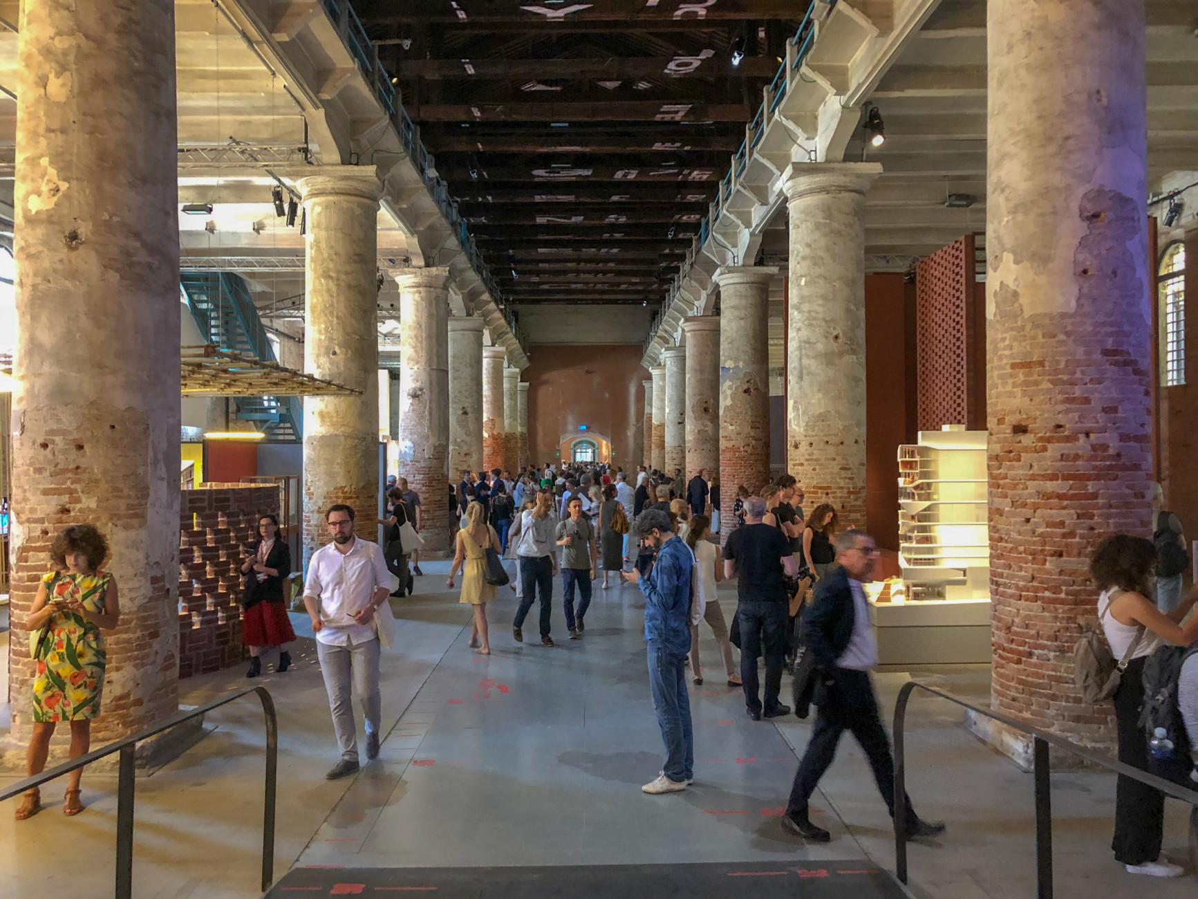 Biennale 2018, Arsenale, Corderie, Central Corridor, Stylepark