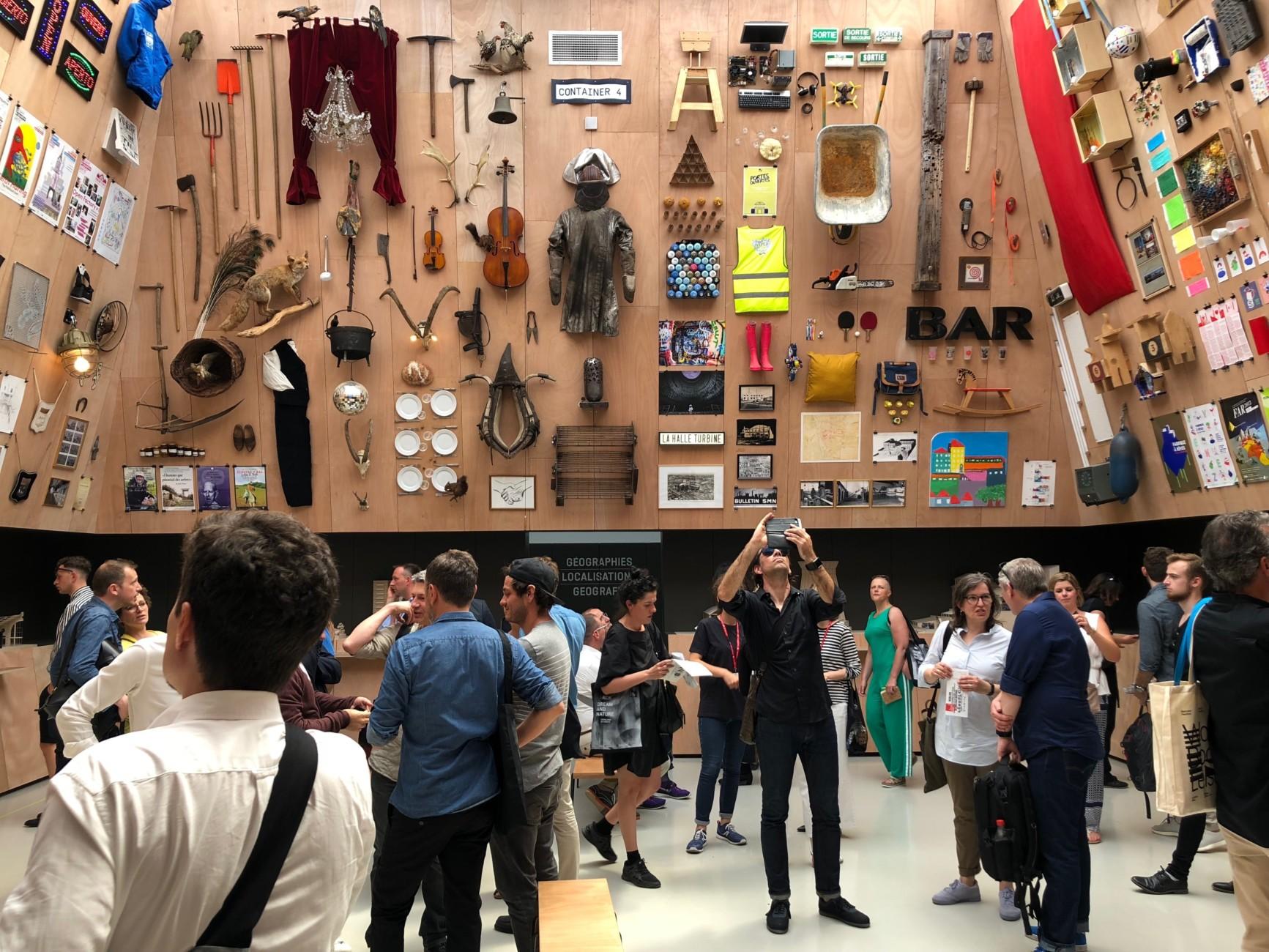 Biennale 2018 French Pavilion Encore Heureux Stylepark