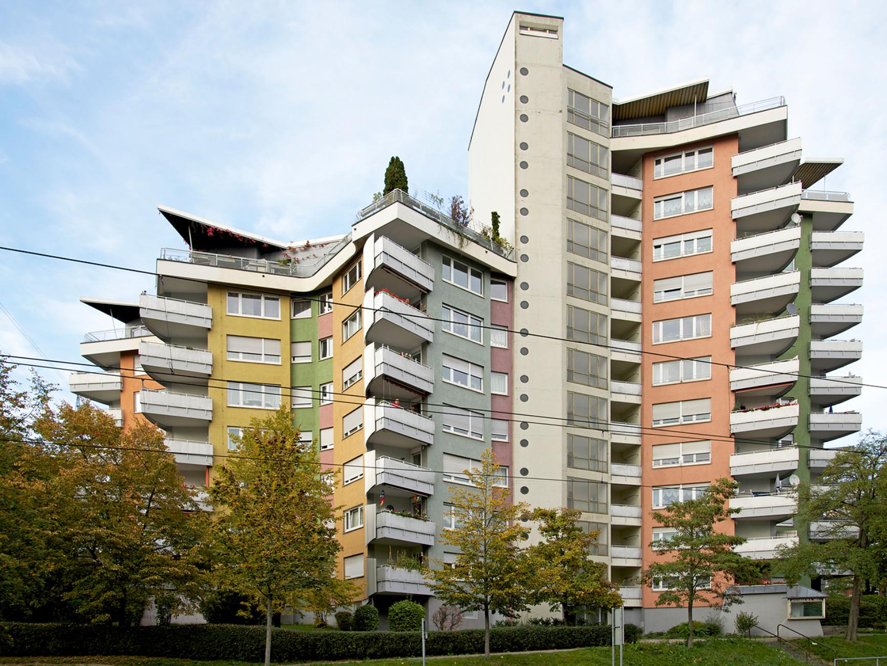 "Residential building ""Julia"" (with Wilhelm Frank), Stuttgart (1954-1959)"