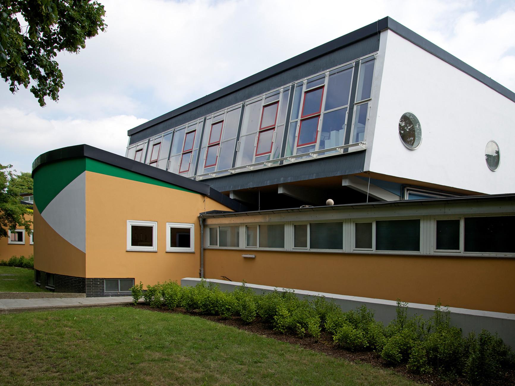 Geschwister Scholl secondary school, Lünen (1955-1962)