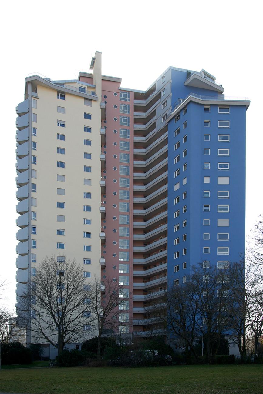 "Residential building ""Salute"" (with Wilhelm Frank), Stuttgart (1959-1963)"