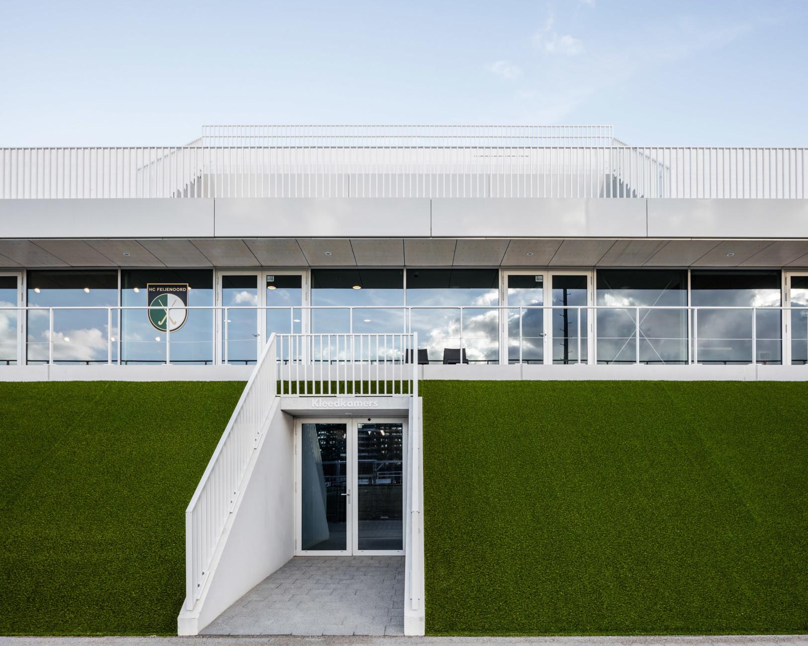 Club House Varkenoord Rotterdam, NL Architects, Stylepark