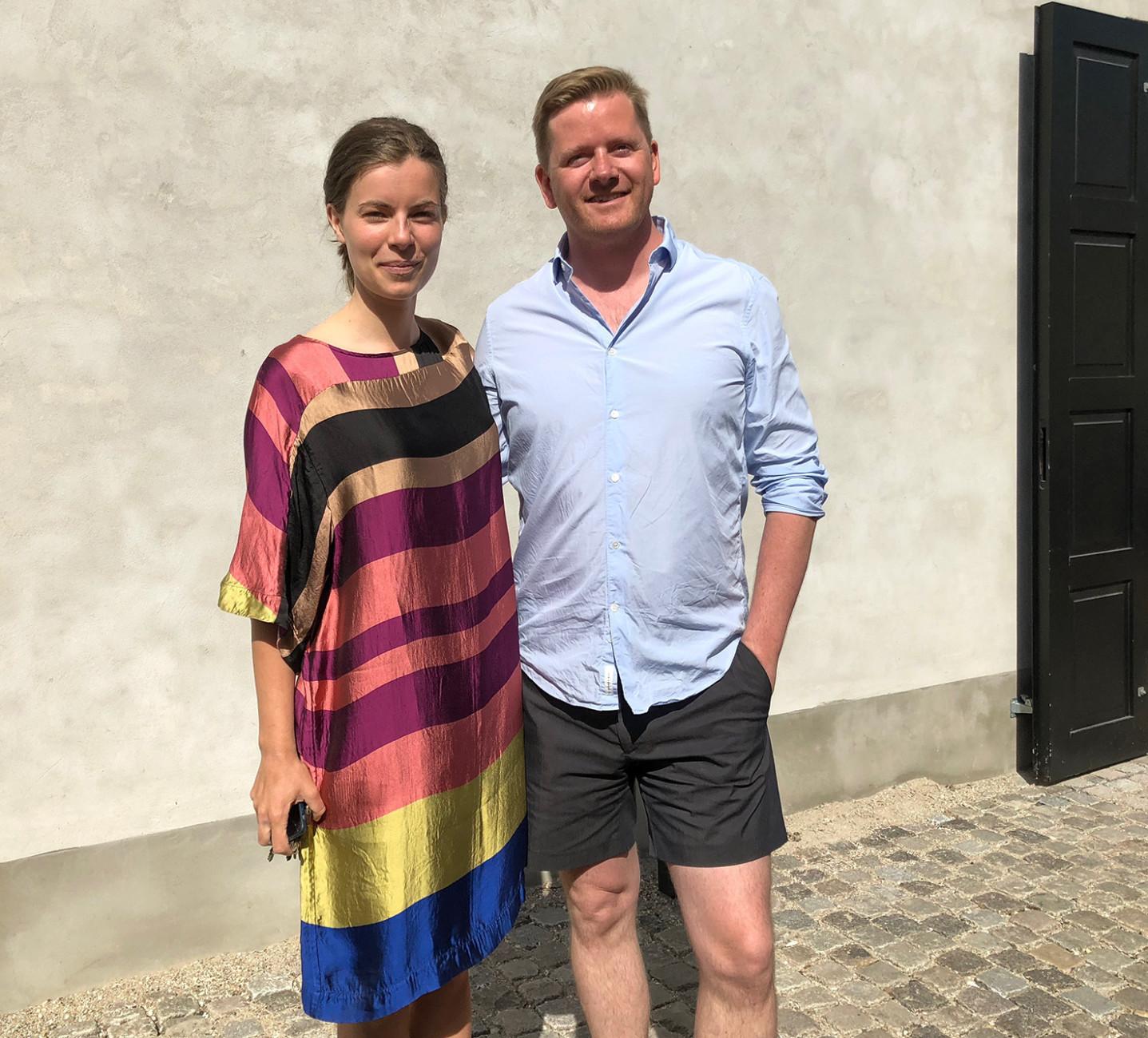 """Zusammen mit der Projektleiterin des Noma, Aurora Lea, hat David Thulstrup das """"Noma 2.0"""" eingerichtet."""
