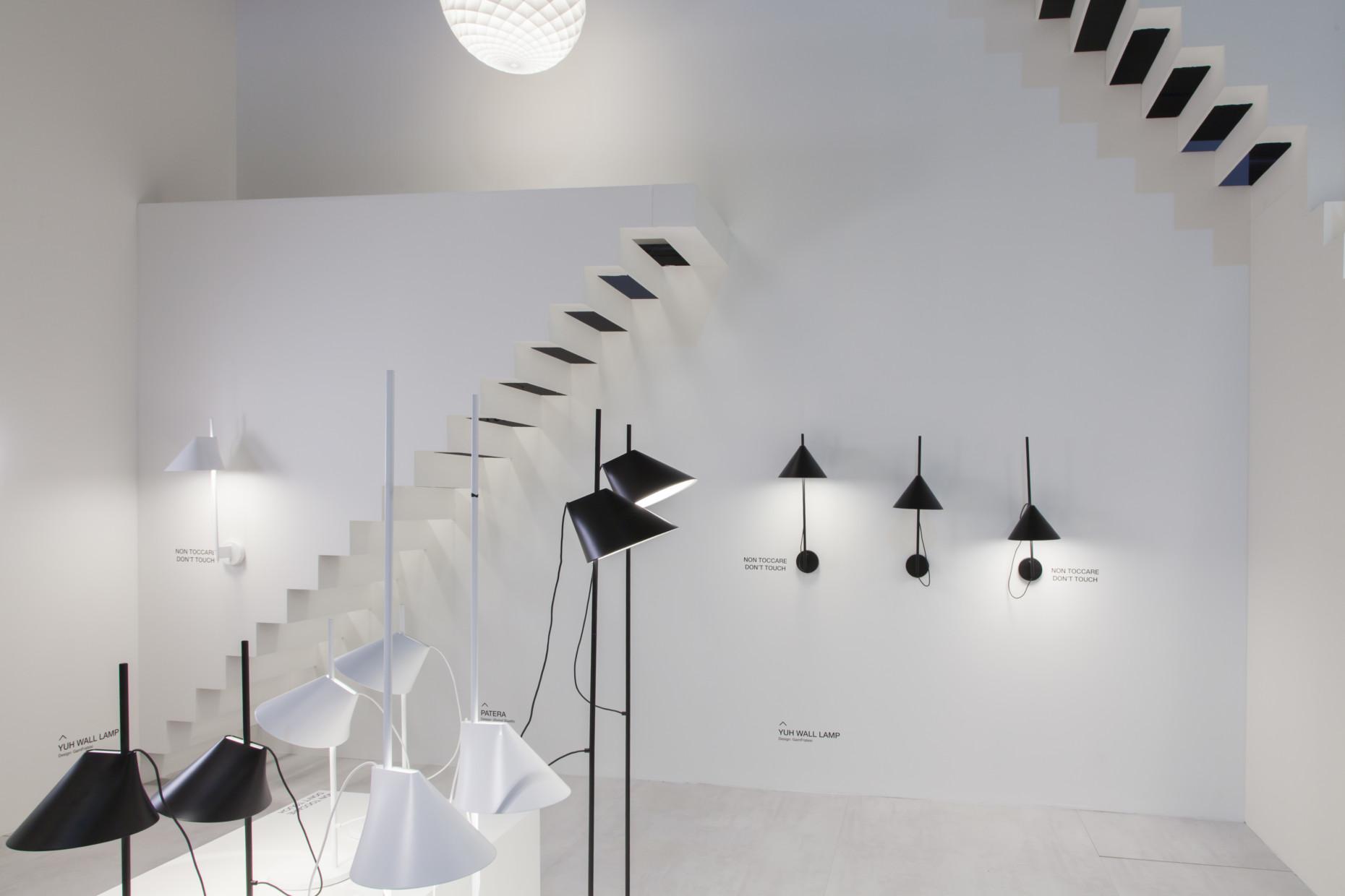 """Die neue Leuchte """"Yuh"""" vom Designerduo Gam Fratesi bietet Louis Poulsen als Wand- und Tischleuchte an."""