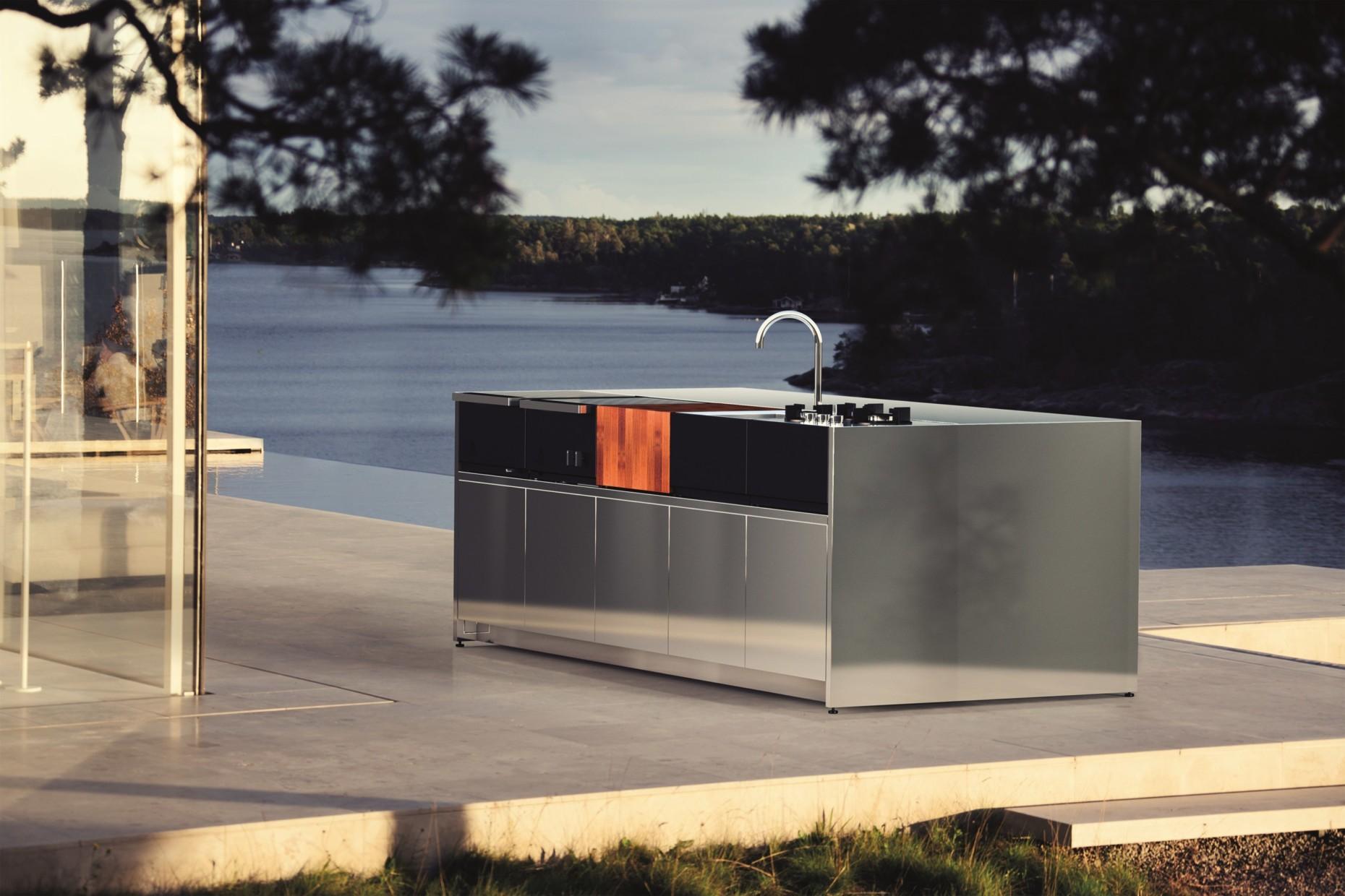 Türen Für Außenküche : Außenküche kernig outdoor küche küche und garten