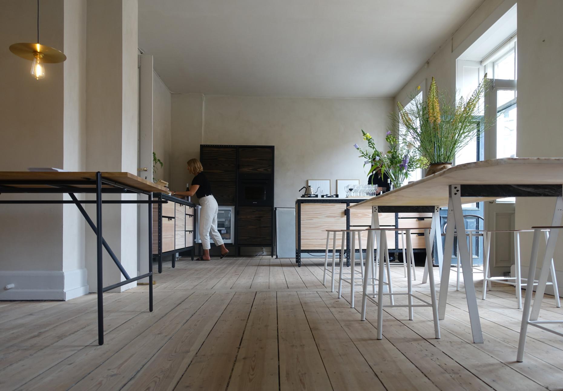 Kitchen design by Frame Copenhagen, modular kitchen