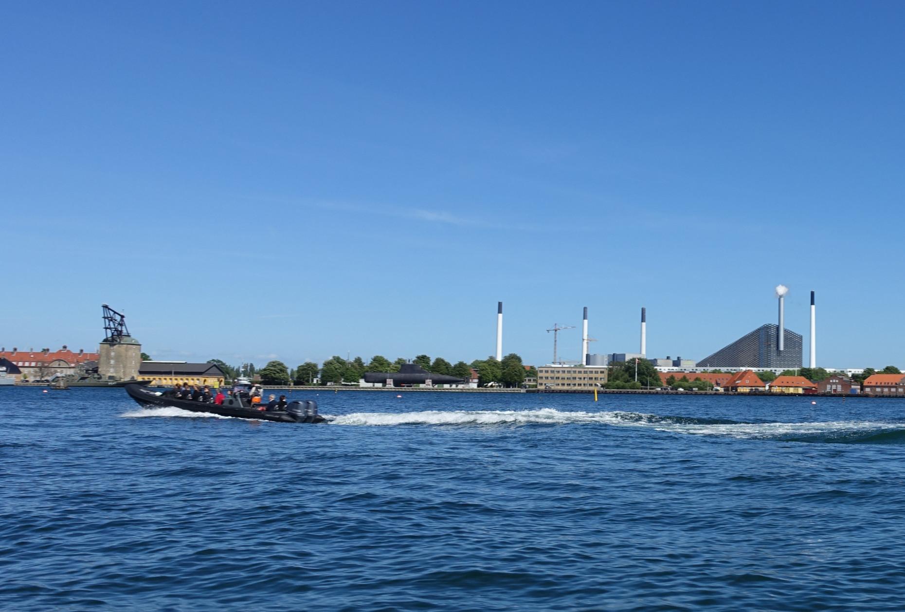 Copenhagen's new landmark, the waste-to-energy-plant with ski track from BIG - Bjarke Ingels Group.
