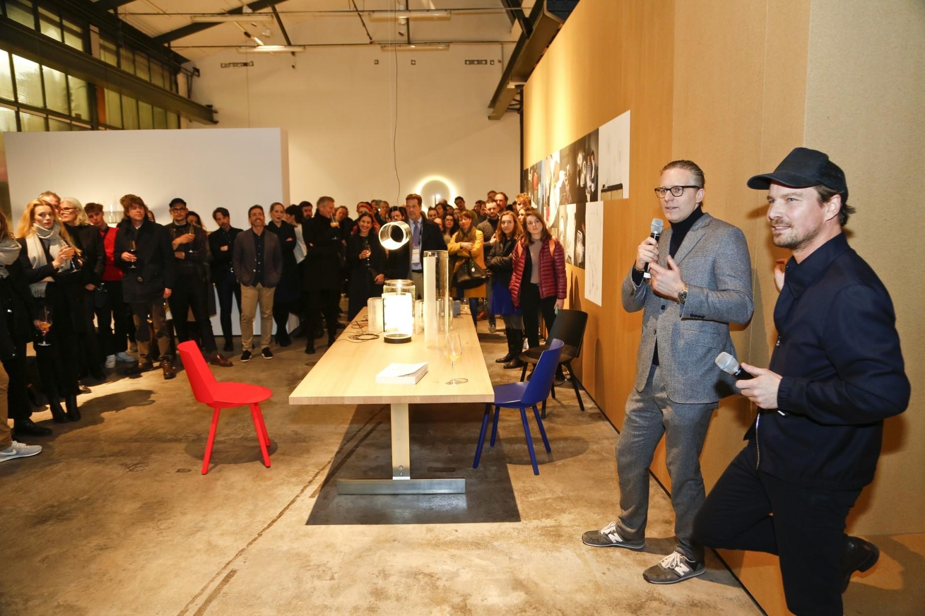 Light + Building 2018, Vibia Event, e15, Stefan Diez, Stylepark, Robert Volhard und Stefan Diez