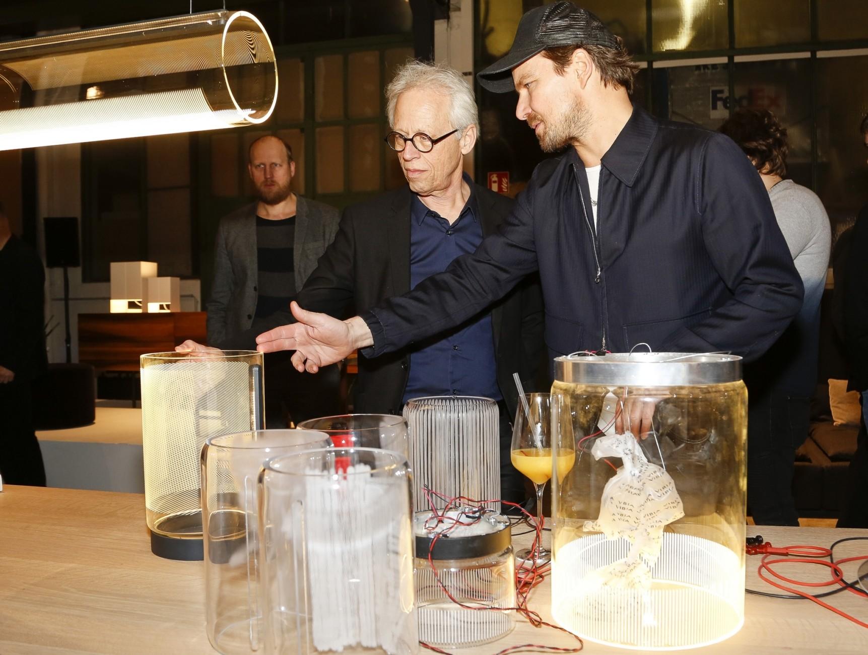 Light + Building 2018, Vibia Event, e15, Stefan Diez, Stylepark, Stefan Diez, Dick Spierenburg (imm cologne)