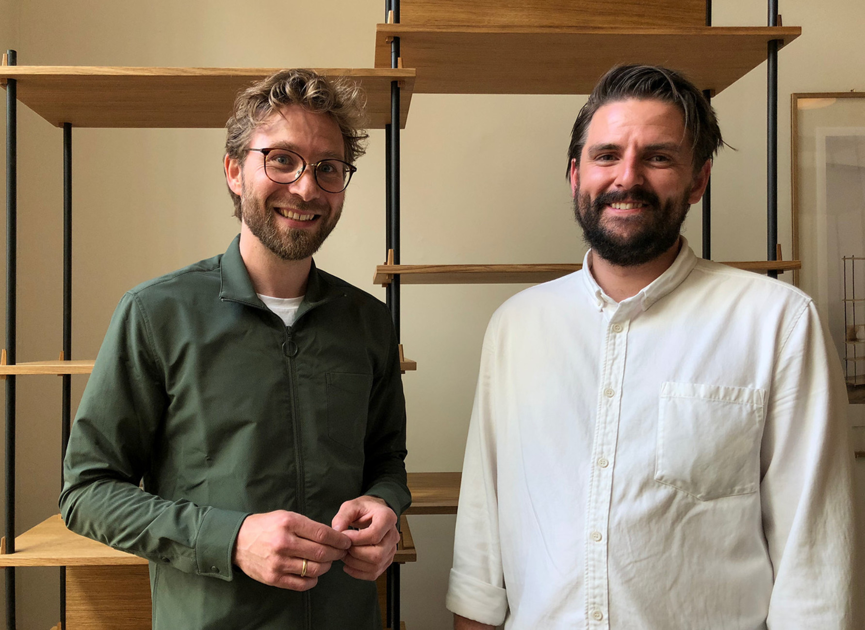 Anders Thams and Nicholas Oldroyd of Moebe